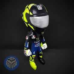 rossi1.jpg Télécharger fichier OBJ Valentino Rossi • Modèle pour impression 3D, joakofernandez94