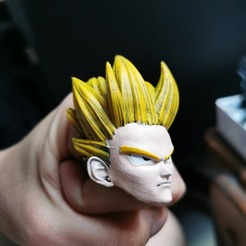 94220713_703921420353339_592267292809625600_n.jpg Download free 3MF file Goku ring • 3D print template, gege_1_1
