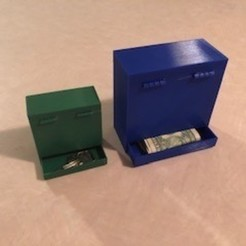 IMG_2828.jpg Download STL file JWizard's Hidden Compartment Box (aka Stash Box) • 3D printer design, JWizard