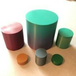 IMG_3253.jpg Download STL file Screw Cap Cylinder Multi-Pack • 3D print design, JWizard