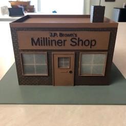 IMG_2515.jpg Download OBJ file J.P. Brown's Millinery Shop • 3D print object, JWizard