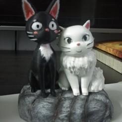 Descargar modelo 3D gratis Jiji & Lily (el servicio de entrega de Kiki), agilakbar11