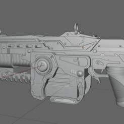 Download 3D printer templates Lancer MK 2- Gears of War, waalterlira