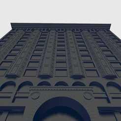 Descargar modelos 3D La Bolsa de Valores de Chicago, waalterlira