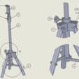 Download free 3D model tripod, anqufa