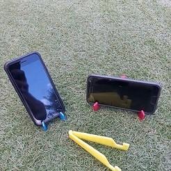 Download free STL file phone holder • 3D printable design, anqufa