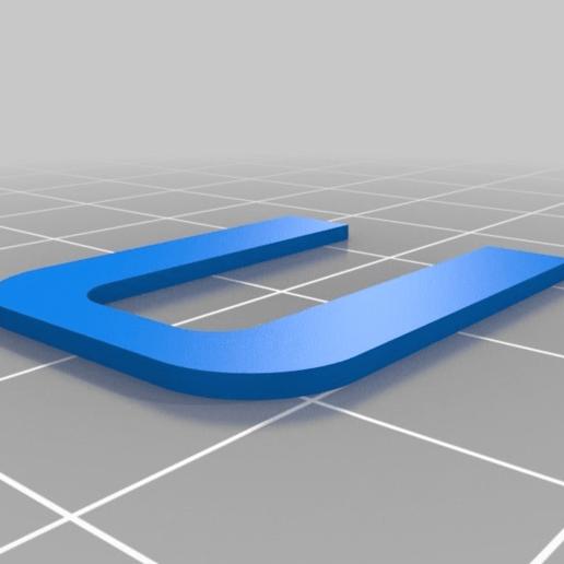 Télécharger modèle 3D gratuit Ender-3 Entretoise de tension de l'axe X, sanblangar2
