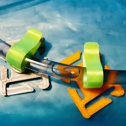 Télécharger plan imprimante 3D gatuit Clip pour tube à eau, Fjellstedt