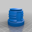 Download free 3D print files Thermos screw cap, Fjellstedt
