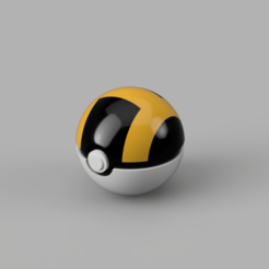 Ultraball 1.png Download STL file Ultraball, Easy assembly, bracket included • 3D print design, DrBlue3D