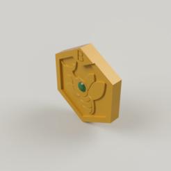 Metabee medal 1.png Télécharger fichier STL gratuit Médaille du Metabee de la série Medabots • Design pour impression 3D, DrBlue3D