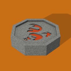 Rooster talisman .png Télécharger fichier STL gratuit Talisman du coq / Talisman du coq (Jackie Chan) • Plan à imprimer en 3D, DrBlue3D