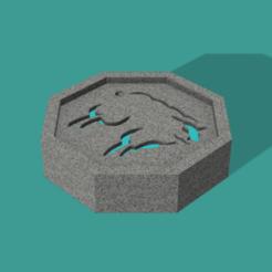 Sheep talisman.png Download free STL file Sheep talisman / ram talisman (Jackie Chan) • 3D printer object, DrBlue3D