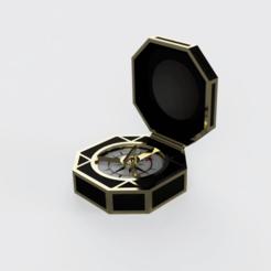 Descargar diseños 3D Brújula de Jack Sparrow - Piratas del Caribe, DrBlue3D