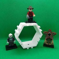 1 piece.jpg Télécharger fichier STL Lego Hexagonal Modulaire • Modèle pour impression 3D, DrBlue3D