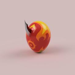 Descargar archivos 3D Digihuevo del valor/Digimental of courage , DrBlue3D