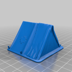 Download free STL file Adventurer's Tent - 28mm gaming • 3D print design, ec3d