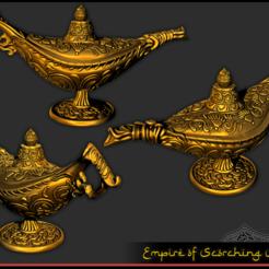 Imprimir en 3D gratis Lámpara Mágica - Propósito RPG, ec3d