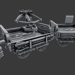 Descargar archivos STL gratis Vagones - Cazadores de Dragones - Juego de 28mm, ec3d