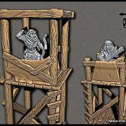 watchtower_0.jpg Download free STL file OpenForge - Modular Bandit Watchtower • 3D printer object, ec3d
