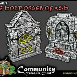 Shrines_-_LowRes.jpg Download free STL file Small/Roadside Shrines - 28mm • 3D print model, ec3d