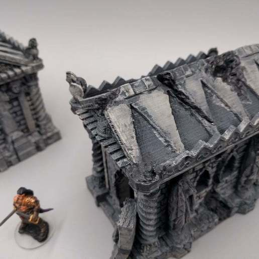 2018-02-13_08.46.48.jpg Download free STL file Tomb (Ruined and Intact) - 28mm gaming • Model to 3D print, ec3d