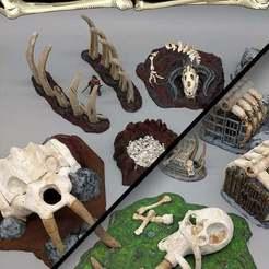 Descargar archivo 3D gratis Boneyard Scatter - 28mm Gaming - Artículo de muestra, ec3d