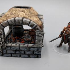 Download free 3D printer model OpenForge - Open Air Cooking Hearth, ec3d