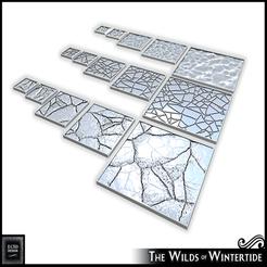 Descargar Modelos 3D para imprimir gratis Salvajes de Wintertide - Bases cuadradas, ec3d