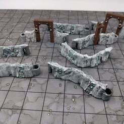 Descargar Modelos 3D para imprimir gratis DungeonSticks: Cavernas - Minas de mineral, ec3d