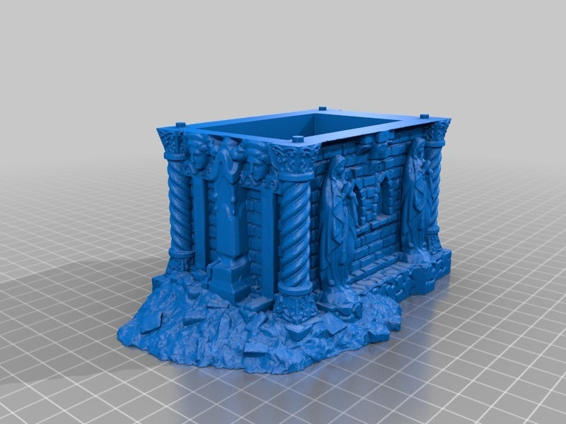 aa47680b858724a44dc37294ee6c13d2.png Download free STL file Tomb (Ruined and Intact) - 28mm gaming • Model to 3D print, ec3d