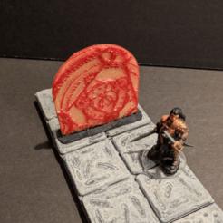 Descargar modelo 3D gratis Barrera Mágica - juego de 28mm, ec3d