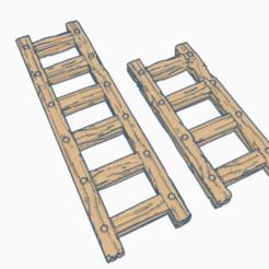 Descargar archivos STL gratis Escaleras de OpenForge - 28mm, ec3d