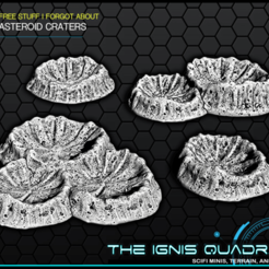 craters.png Download free STL file Asteroid Craters - The Ignis Quadrant • 3D printable model, ec3d