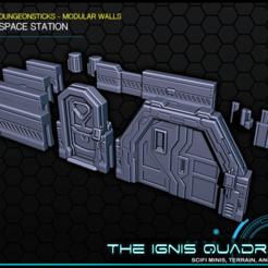 Descargar Modelos 3D para imprimir gratis DungeonSticks: Estación espacial, ec3d