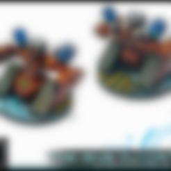 Download free STL file EC-099 Assault Bot - 28-32mm gaming • 3D printer template, ec3d