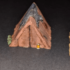 Télécharger fichier impression 3D gratuit Camp de l'aventurier - Tentes - Jeu 28mm, ec3d