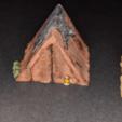 Télécharger fichier STL gratuit Camp de l'aventurier - Tentes - Jeu 28mm • Design à imprimer en 3D, ec3d