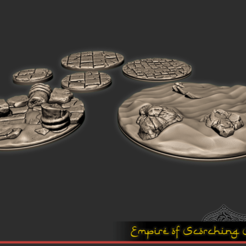 1.png Download free STL file Empire of Scorching Sands - Round Bases Part 2 • 3D printable design, ec3d