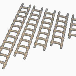 Descargar Modelos 3D para imprimir gratis OpenForge - Escalera de cuerda - 28mm, ec3d