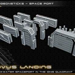 ds2_lowres.jpg Télécharger fichier STL gratuit DungeonSticks : Port spatial • Objet imprimable en 3D, ec3d