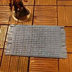 Impresiones 3D gratis Alfombra tejida - 28mm de juego, ec3d