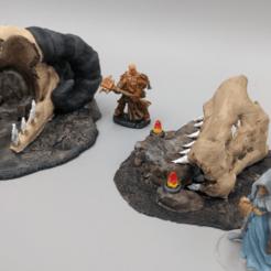 Descargar diseños 3D gratis Tribu del Dragón - Trono y Altar - OpenForge, ec3d