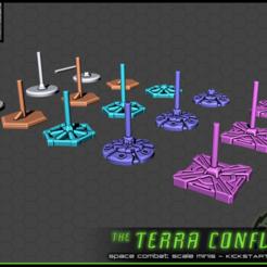 Download free 3D model Flight Stands / Bases - The Terra Conflict, ec3d