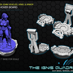 hb1.png Download free STL file Hoverboards - 28-32mm gaming - The Ignis Quadrant • Design to 3D print, ec3d
