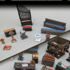 Descargar archivo 3D gratis Religión y Fe - Juego de 28mm - Muestras, ec3d