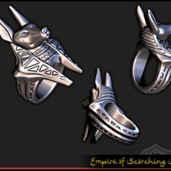 Descargar archivos STL gratis Anillo de Anubis - Puntal RPG, ec3d
