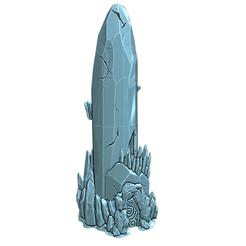 Descargar archivo 3D gratis OpenForge - fragmento de cristal (Torre), ec3d
