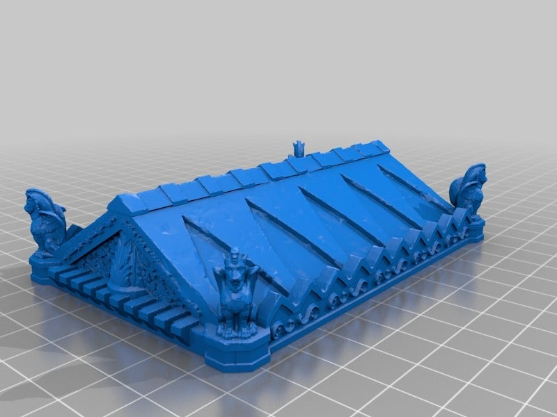 75143791da6885323586365e3e6878e0.png Download free STL file Tomb (Ruined and Intact) - 28mm gaming • Model to 3D print, ec3d