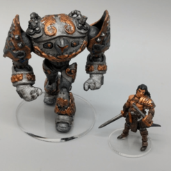 Screenshot_2018-07-20_19.01.41.png Download free STL file Dwarven Steam Golem (Remix) - 28mm Gaming • 3D printing design, ec3d